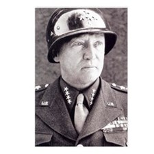 General GS Patton Postcards (Package of 8)