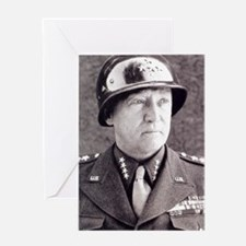 General GS Patton Greeting Card