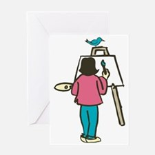 Young Artist Greeting Card