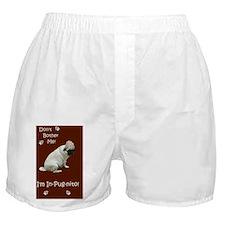 Funny In-Pug-nito! Pug Dog Boxer Shorts