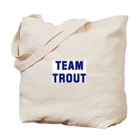 Team TROUT Tote Bag