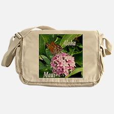 Passion Vine Butterfly Messenger Bag