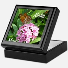 Passion Vine Butterfly Keepsake Box