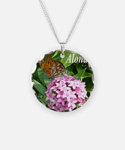 Passion Vine Butterfly Necklace