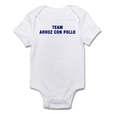 Team ARROZ CON POLLO Infant Bodysuit