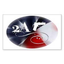 Oval - 2A - Flag Spectrum Decal