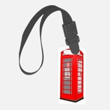 phone booth Luggage Tag