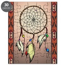 southwestern dreamcatcher smallrug Puzzle