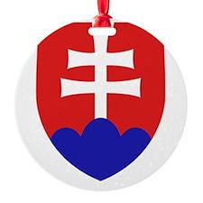 Slovakia Coat of Arms Ornament