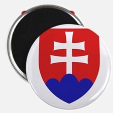 Slovakia Coat of Arms Magnet