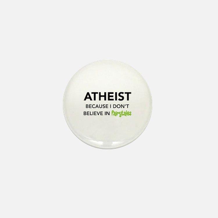 Atheist vs. Fairytales Mini Button (100 pack)