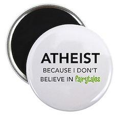 Atheist vs. Fairytales Magnet