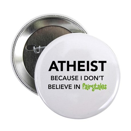 Atheist vs. Fairytales Button