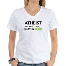 Atheist vs. Fairytales Shirt