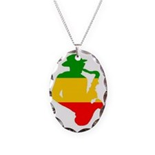 Rasta Sax Necklace