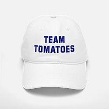 Team TOMATOES Baseball Baseball Cap