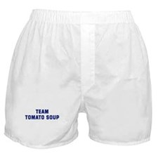 Team TOMATO SOUP Boxer Shorts