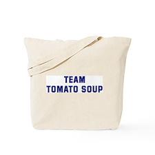 Team TOMATO SOUP Tote Bag