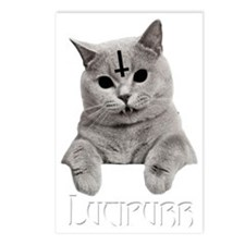 LUCIPURR Postcards (Package of 8)