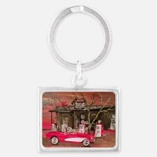 Ghost Of 66 Landscape Keychain