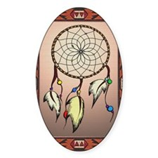 southwestern dreamcatcher rug Decal