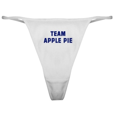 Team APPLE PIE Classic Thong