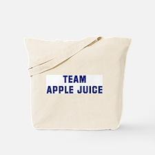 Team APPLE JUICE Tote Bag