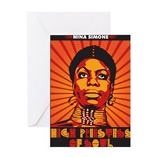 High Priestess of Soul Greeting Card