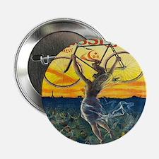 """Vintage Paris Fairy Bicycle 2.25"""" Button"""