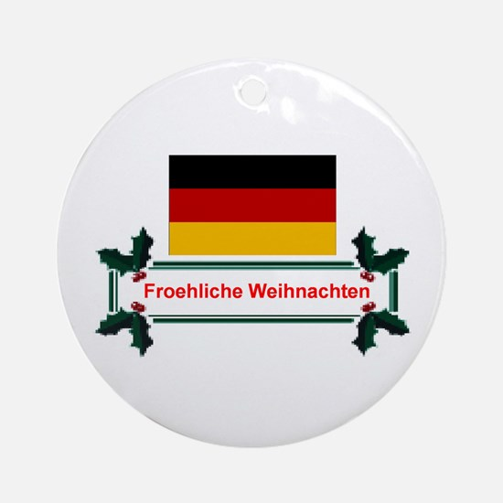 German Froehliche... Keepsake Ornament