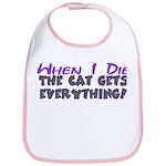 When I Die - Cat Bib