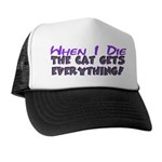When I Die - Cat Trucker Hat