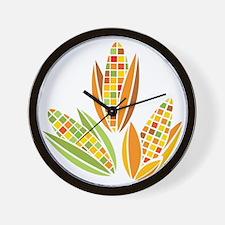 Corn Wall Clock