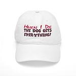 When I Die- Dog Cap