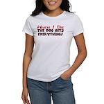 When I Die- Dog Women's T-Shirt