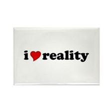 I Love Reality Rectangle Magnet (10 pack)