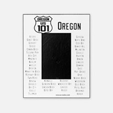 US Route 101 - Oregon cities Picture Frame