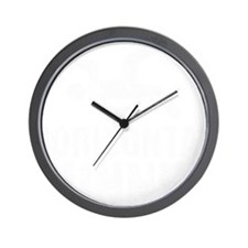 Horizontal Runner Wall Clock