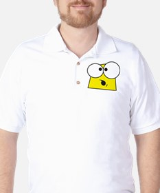 Cartoon Face Golf Shirt