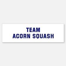 Team ACORN SQUASH Bumper Bumper Bumper Sticker