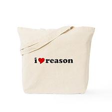 I Love Reason Tote Bag