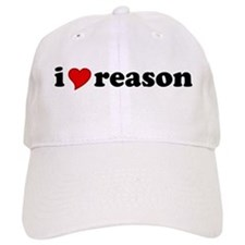 I Love Reason Baseball Cap