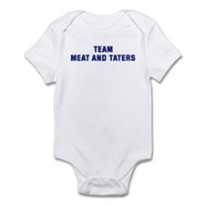 Team MEAT AND TATERS Infant Bodysuit