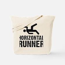 Horizontal Runner Tote Bag