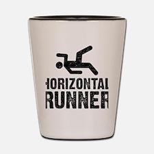 Horizontal Runner Shot Glass