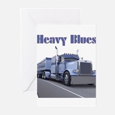 Heavy Blues Greeting Cards (Pk of 10)