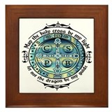 St. benedict Framed Tiles