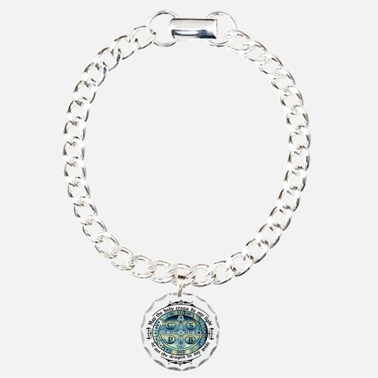 Medal of St Benedict Bracelet