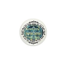 Medal of St Benedict Mini Button