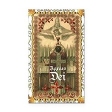 Agnus Dei Blood in the Chalic Rectangle Car Magnet